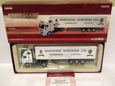 CORGI ROADSCENE VOLVO FH FRIDGE TRAILER WHITELINK SEAFOODS 1/76 CC18002