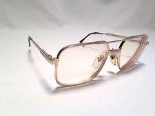 Vintage Luxottica Director Gold Electroplated RX Eyeglasses Frames 56/18~140