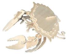 Crabe 3D en bois Kit de modélisation Modèle Jigsaw Puzzle