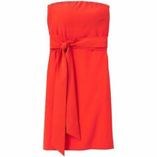 ATHLETA  SAFFRON RED   WRINKLE FREE TRAVEL ANYWHERE DRESS  14