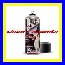 Bomboletta vernice spray a pellicola removibile WRAPPER Auto Moto Nero Opaco