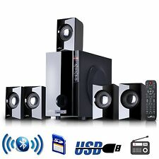 NEW BEFREE 5.1 CHANNEL SURROUND SOUND BLUETOOTH HOME THEATER SPEAKER SYSTEM BLK