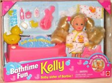Bathtime Fun Kelly Doll Playset (Little Sister of Barbie) (NEW)