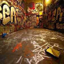 Graffiti stereo 10'x10' CP Backdrop Computer-painted Scenic Background SL-048