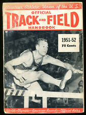 1951-52 AAU Official Track and Field Handbook