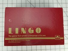 LINGO 1985 GOLDEN GAMES  TEST YOUR SLANG VOCABULARY  PAST AND PRESENT #4890