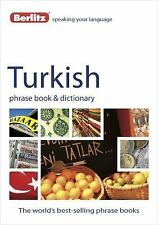 Turkish Phrase Book and Dictionary by Berlitz Publishing Staff (2012, Paperback)