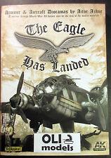 Armour & Aircraft Dioramas: The Eagle Has Landed Book - AK Interactive 687