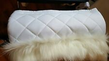 FUR HAND MUFF FOR SILVER CROSS COACH BUILT DOLLS PRAM