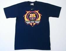 Nike 2006 Barcelona Tour Navy Blue Short Sleeve Tee T Shirt Mens Small S NWT