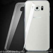 New Samsung Galaxy S6 Thin Transparent /Clear Silicone Gel Case - UK Stock
