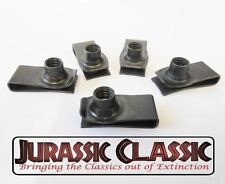 1946-1980 Chevy Amc 5pk 5/16-18 Extruded Fender U-Nuts Clips Hood Body Console(Fits: Hornet)