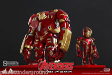 HOT TOYS AVENGERS HULKBUSTER & IRON MAN XLIII BATTLE DAMAGED ARTIST MIX FIGURES