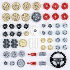 Lego Technic - Gears Cogs Wheels Worms Clutch Pulley - 55 Parts - NEW