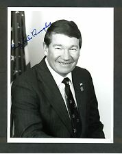 "Rep. Randy Duke Cunningham CA - 7""x9"" AUTOGRAPHED Glossy Photo - w/ LETTERHEAD"