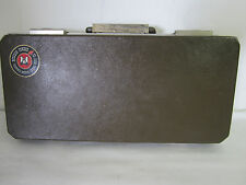 Vintage 1970s Hodgdon Powder Co Shawnee Mission, Kansas 66202 Firearm Gun Case
