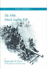 The 9-Pdr. Muzzle Loading Rifle Booklet Cannon Field Artillery