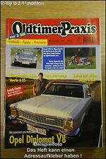 Oldtimer Praxis 9/99 Opel Diplomat V8 Honda S 600