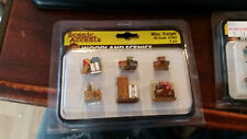 HO Scale Woodland Scenics Misc. Freight  A1953