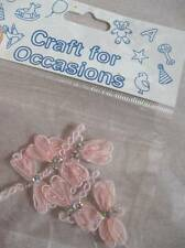 Pink Dragonflies Appliques - Craft for Occasions - Pack of  5