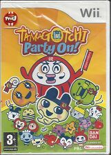 TAMAGOTCHI PARTY ON for Nintendo Wii - NEW in seal - manual in French, Dutch