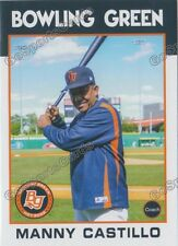 2016 Bowling Green Hot Rods Manny Castillo Tampa Bay Rays CO