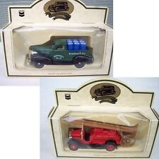 Lledo Refinery 1934 Fire Engine RPM Motor 1939 Chevrolet Pick-Up Truck Diecast