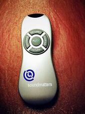 1x Fernbedienung / Remote control für Soundmatters MAINstage Receiver Sound Bar