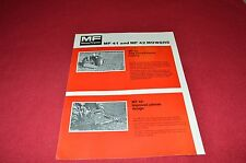 Massey Ferguson 41 42 Mowers Dealers Brochure LCOH