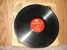 Columbia 36089 Eddy Duchin and his Orchestra - Time And Time Again / Maria Elena