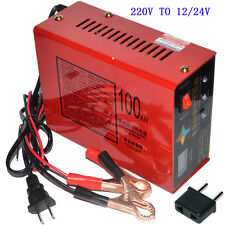 Automatic 220V TO 12V/24V 10A 140W Lead Acid Battery Charger For Car Motorcycle