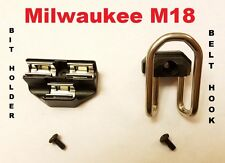 Milwaukee  M18 Impact Driver Drill - Combo Kit : BIT HOLDER and BELT CLIP / HOOK