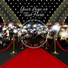 8X8 Digital Printed Backdrop (CUSTOM RED CARPET-SKYLINE 24) Timeless Backdr
