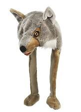 Tier Mütze Plüsch Mütze Wolf