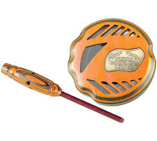 NEW FOXPRO Crooked Spur Knuckle Puck Turkey Call Orange Wood Pot CSRGGOR