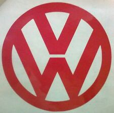 "SMALL set of 2 Vinyl Volkswagen Decals VW Sticker 2"" Beetle Badge Golf GTI BUG A"