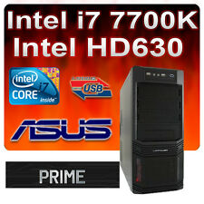 ASUS-PRIME-Aufrüst-PC Intel Core i7 7700K 4x4,50GHz-HD630 Grafik-M.2