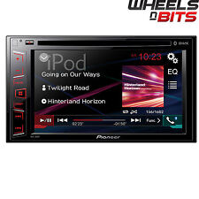 "Pioneer AVH-280BT 2-DIN Bluetooth In-Dash DVD Receiver 6.2"" Touchscreen Display"
