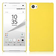 Slim Matte Frost Rigid Hard Plastic Back Case Cover For Sony Xperia Z5 Compact