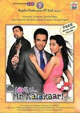 LOVE U MR. KALAKAAR -(TUSSHAR KAPOOR) NEW ORIGINAL BOLLYWOOD DVD - FREE UK POST