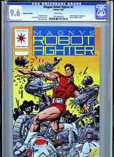 Valiant Comics Magnus Robot Fighter Issue #0 Comic 1992 CGC Graded 9.6
