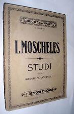 Studii o lezioni perfezionamento per pianoforte op. 70 / Ignazio Moscheles