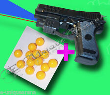 1200+ BB BULLETS + M-2068AF HIGH GRADE SPORT TOY GUN WITH LASER BEAM BLUE LIGHT