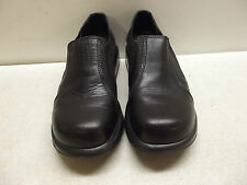 DANSKO BLACK LEATHER PROFESSIONAL NURSES WORK SHOE SIZE 40 3 36 CO STRETCH SIDES