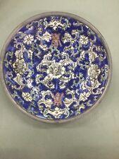 A.C.F. Japanese porcelain ware encased in pewter bowl Rose design