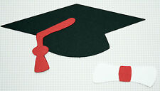 6 Brand New Graduation Cap and Diploma Toppers  cake decoration 07