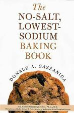 The No-Salt, Lowest-Sodium Baking Book-ExLibrary