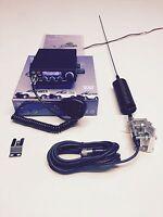 CB Radio AM/FM Starter Kit TeamTS-6M+ Mini Springer CB  Antenna & 4 bolt bar kit