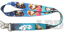 Disney Frozen Lanyard Keychain Cell Phone ID HOLDER Frozen The Movie Lanyard