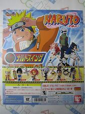 Anime Comic Naruto Swing Part 1 Gashapon Toy Machine Paper Card Bandai Japan